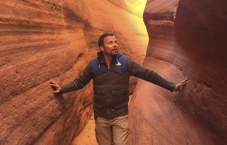 Peek a boo slot canyon atv touring