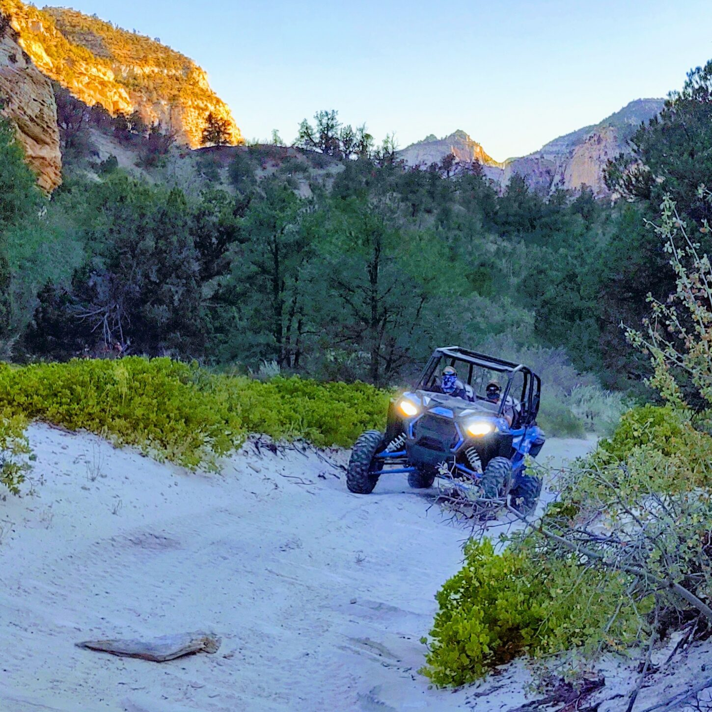 Hog Canyon ATV ride