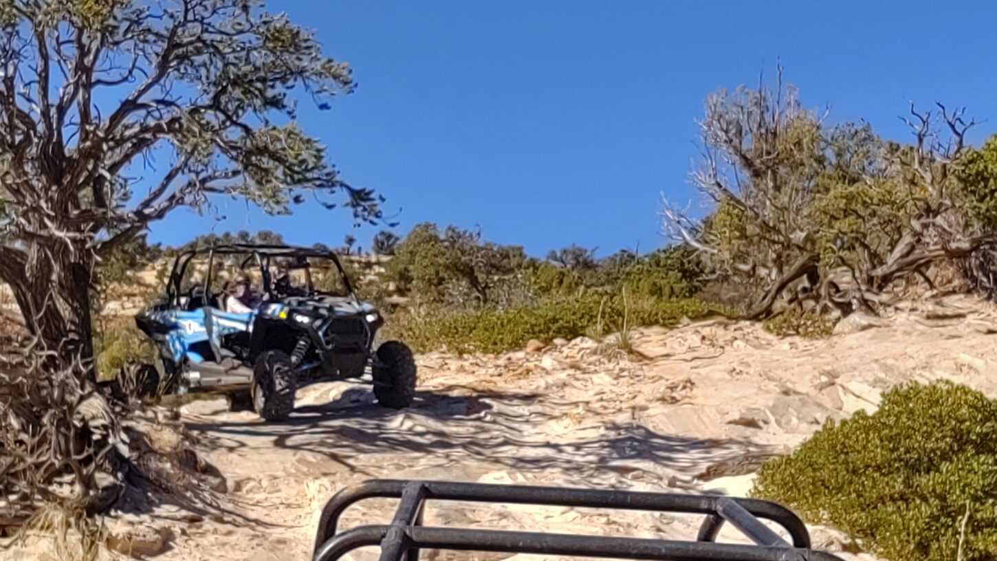 UTV trail driving hog canyon