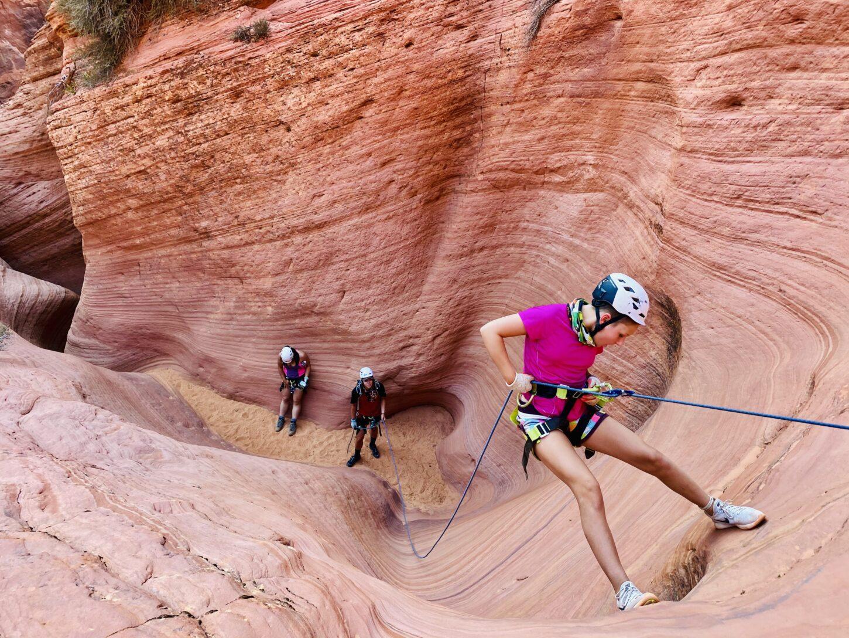 canyoneering with Kanab Tour Company
