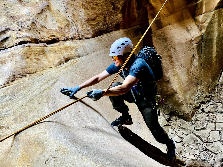 Advanced canyoneering